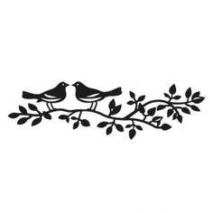 Marianne Design CR1264 - Birds silhouette