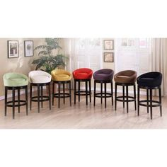 bar stools swivel low back counter height - Google Search