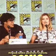 #ElizaThe100SDCC 2017 Bellarke- Bob and