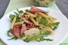Insalata di pasta rucola e speck, scopri la ricetta: http://www.misya.info/ricetta/pasta-fredda-rucola-e-speck.htm
