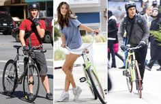 Selebriti dan Sepedanya