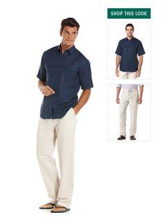 Guayabera - Linen Pants - Beach Wedding Shirts   Cubavera