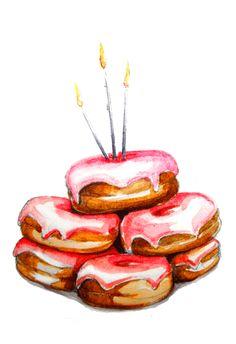 PAPERFASHION donuts