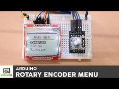 Arduino Menu on a Nokia 5110 Lcd Using a Rotary Encoder: 6 Steps (with Pictures)