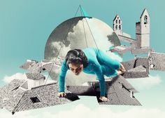 Snapshots of Provence - Julien Pacaud • Illustration • Perpendicular Dreams