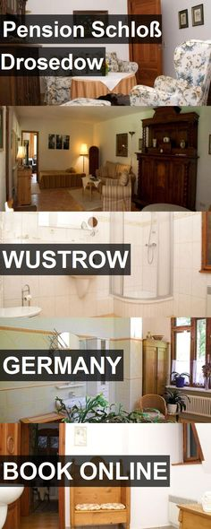Hotel Pension Schloß Drosedow in Wustrow, Germany. For more information, photos, reviews and best prices please follow the link. #Germany #Wustrow #hotel #travel #vacation