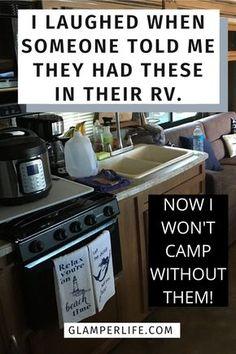 Camper Diy, Camper Storage, Rv Campers, Camper Trailers, Storage Ideas For Campers, Casita Camper, Beach Camper, Homemade Camper, Teardrop Campers