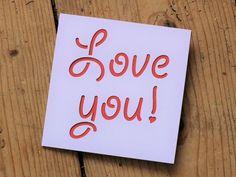 Love you! £3.00