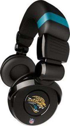 NFL Licensed Jacksonville Jaguars Pro DJ Headphones