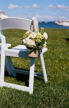 Navy & White Nautical Wedding - Inspired by This