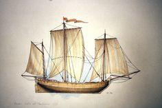 Russia - Lodia del Mar Bianco - 1859
