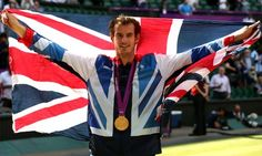 London Olympics: Andy Murray wins gold medal in men's tennis Wimbledon Final, Wimbledon Tennis, Andy Murray Olympics, Team Gb 2012, Stan Wawrinka, British Sports, Winners And Losers, Great Team, Historia