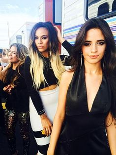 Camila, Dinah and Ally yesterday