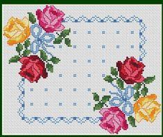 1 million+ Stunning Free Images to Use Anywhere Cross Stitch Borders, Cross Stitch Rose, Modern Cross Stitch Patterns, Cross Stitch Flowers, Cross Stitch Designs, Cross Stitching, Cross Stitch Embroidery, Hand Embroidery Designs, Stitch Kit