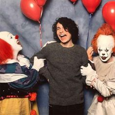 'Finn with Pennywises @finnwolfhardofficial #finnwolfhard #itthemovie