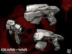 Gears of War Snub Pistol by YemYam