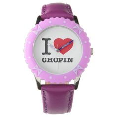 Your Custom Bezel with Purple Ribbons Watch