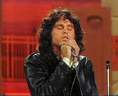 Jim Morrison. Ed Sullivan show most likely.
