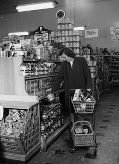 Grocery shopping - for the choices we have (contraband or not!), for the quality we can afford