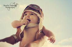 Buff & Pumpkin Baby Boy / Toddler Bomber by FuzzyCheeksBoutique