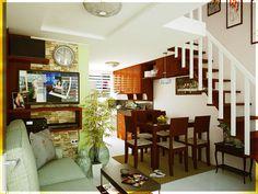simple 2 storey house interior design conception de la maison rh pinterest com