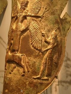 Urartu art, dated about 860 BC-590 BC.-Ancestors to the Armenian people. Came…