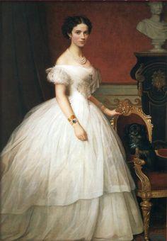 lacedheartt:  Princess Dagmar of Denmark, (1847-1928) by unknown artist  Later Empress maria Feodorovna of Russia