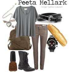 THE HUNGER GAMES : Peeta Mellark, created by captainku on Polyvore