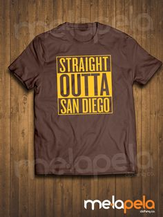 NEW  Straight Outta San Diego Padres 80's by MelaPelaClothing