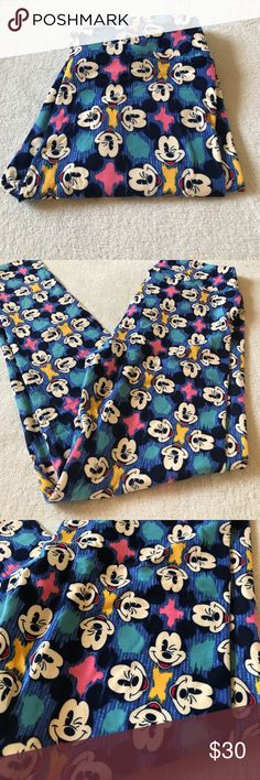 LuLaRoe one size Os Disney leggings LuLaRoe one size Os Disney leggings LuLaRoe Pants Leggings