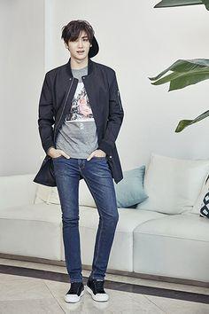 Park Hyungsik Fashion for Brand BANG BANG F/W 2016