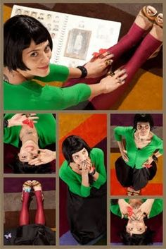 I want to be Amelie for Halloween