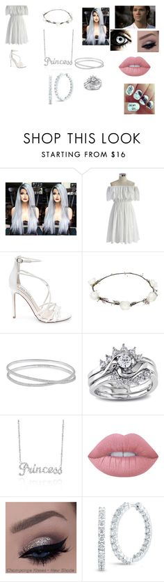 """""""SPN Outfit #10"""" by giacozz ❤ liked on Polyvore featuring Episode, Chicwish, Steve Madden, Lipsy, Maison Margiela, Miadora, Belk & Co., Lime Crime and Roberto Coin"""