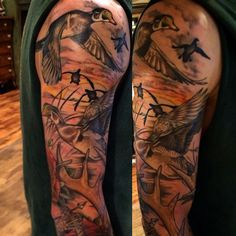 cool Top 100 hunting tattoos - http://4develop.com.ua/top-100-hunting-tattoos/