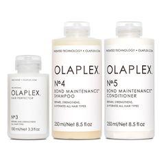 Bond Maintenance System Kit - OLAPLEX Inc. Olaplex Before And After, Calcium Bentonite Clay, Vegetable Protein, Home Treatment, Brittle Hair, Damp Hair Styles, Hair Repair, Hair Journey, Bond
