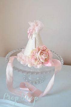Girls Sweet Perfection Birthday Hat special by propshopboutique, $35.00