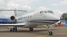 Gulfstream has brought its entire business jet fleet to the Singapore Airshow, including the extended-range G650ER version of its new flagship—powered by Rolls-Royce BR725 A1 engines and capable of flying 7,000 nm, being shown at the Singapore Airshow for the first time. Also on display: Gulfstream's G150, G280, G450, and G550 jets.  There are upwards of five dozen Gulfstream aircraft based in Southeast Asia.