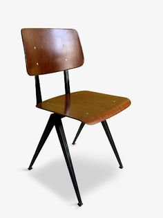 Chaise industrielle de Friso Kramer- création année 50