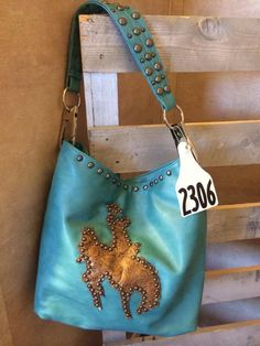 Holy Cow Couture Bucking Bronc Bag