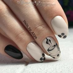 40 Coffee Nail Designs That Are So Cute! - Coffee Nail Designs That Are So Cute! Latest Nail Designs, Fall Nail Designs, Hair And Nails, My Nails, Nail Drawing, Nagellack Trends, Fall Nail Art, Nail Decorations, Nude Nails
