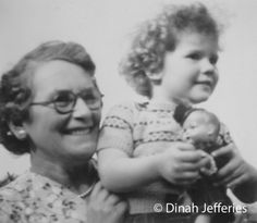 Dinah with her Gran in Worcestershire Family Photos, Couple Photos, My Childhood, Penguins, 1950s, Fiction, England, Family Pictures, Couple Pics