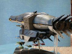 Garfish carrier. Robotech new generation