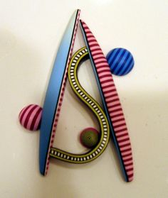 Made in Donna Kato Class by Robin Milne - ClayingAround, via Flickr