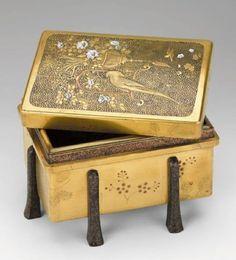 Lacquer box, Japan, 19th Century