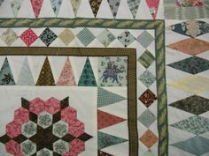 The Billings' Coverlet 1805-1810      The original coverlet can be found in the collection of The Quilters' Guild of the Brit...