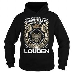 Awesome Tee LOUDEN Last Name, Surname TShirt v1 T-Shirts