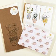 M I J K S J  E • Vandaag kreeg ik een sample van het merk @mijksje binnen: wat vinden jullie hiervan? #mijksje #kaarten #egel #planten #kopjes