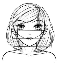 This is an easy technique how to draw manga faces step by step for beginners. Full guide here. http://www.mangastictuts.com/how-to-draw-manga-faces-step-by-step/