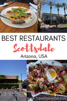Scottsdale Food Guide: Best Restaurants in Old Town Scottsdale, Arizona - Travel Savvy Gal This Scottsdale food guide showcases the best restaurants in Old Town Scottsdale, Arizona, plus bars in Old Town to check out for some amazing drinks. Arizona Road Trip, Arizona Travel, Food Places, Best Places To Eat, Scottsdale Arizona, Arizona Usa, Arizona State, Scottsdale Restaurants, Visit Arizona