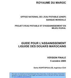 Exemple de note de calcul assainissement cours aep for Assainissement cours pdf
